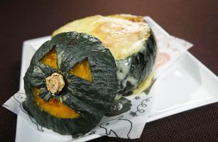 キッチンぷいぷい ちちんぷいぷい チーズ料理 かぼちゃ丸ごとグラタン