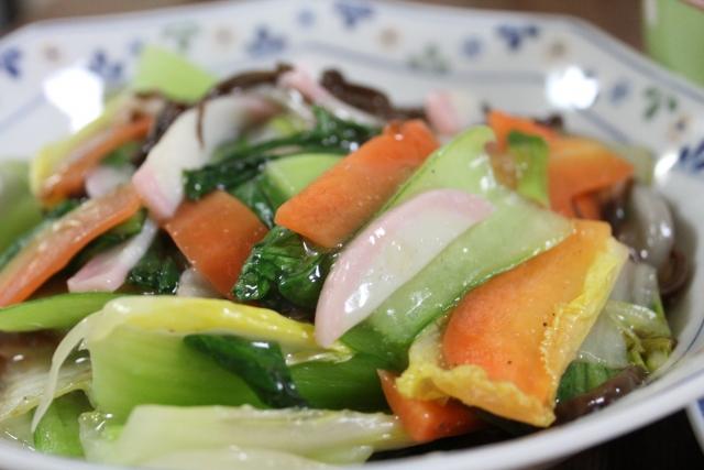 魔法のレストラン レシピ 作り方 5分でできる八宝菜