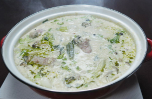 キッチンぷいぷい ちちんぷいぷい 11月17日 牡蠣の肉巻き豆乳鍋