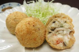 レシピ ちちんぷいぷい キッチンぷいぷい 11月30日 海鮮おからコロッケ