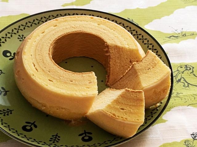 おはよう朝日です レシピ たまご焼き器 バームクーヘン チーズケーキ
