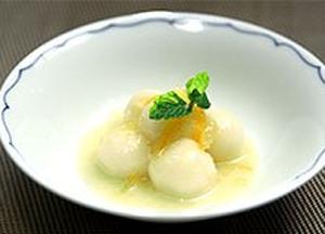 時短!簡単!今夜使える美食レシピ 関西テレビ 韓国 柚子茶のミルク白玉
