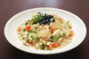 レシピ ちちんぷいぷい キッチンぷいぷい 12月11日 ごろっと野菜の明太あん丼