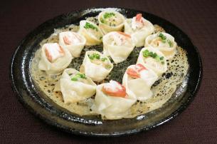 レシピ ちちんぷいぷい キッチンぷいぷい 12月19日 2種の海鮮餃子 クリスマス