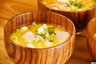 レシピ 青空レストラン 茶ノ実油 1月20日 作り方 豚汁