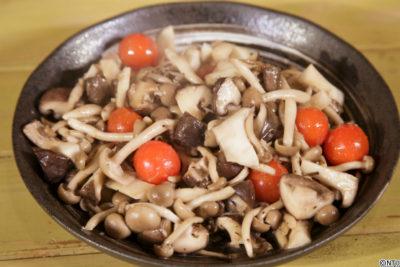 青空レストラン レシピ 作り方 1月27日 グラスフェッドバター キノコのアンチョビバター炒め