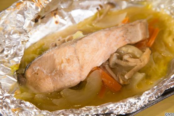 青空レストラン レシピ 作り方 1月27日 グラスフェッドバター 鮭のホイル焼き