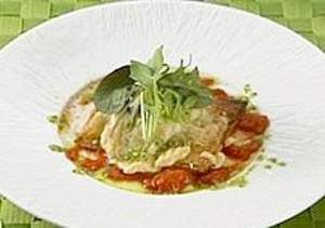 オーソレミーヨ レシピ ハイヒールモモコ 簡単 1月20日 魚介と冬野菜のカルツォーネ風