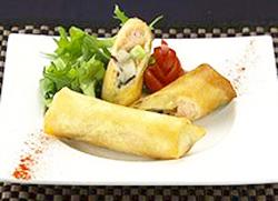 オーソレミーヨ レシピ ハイヒールモモコ 簡単 1月27日 鮭と具沢山きのこのクリーム春巻