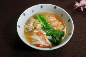 レシピ ちちんぷいぷい キッチンぷいぷい 春の海鮮茶碗蒸し