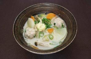 レシピ ちちんぷいぷい キッチンぷいぷい 3月6日 菌活 鶏団子の甘酒汁