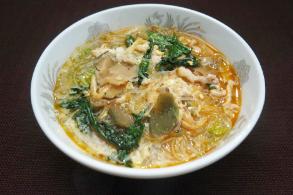 レシピ ちちんぷいぷい キッチンぷいぷい 3月6日 菌活 ザーサイと春雨のスープ