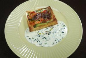 レシピ ちちんぷいぷい キッチンぷいぷい 3月6日 菌活 たっぷりチーズとサーモンのパイ