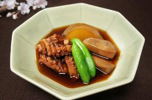 レシピ ちちんぷいぷい キッチンぷいぷい 3月27日 タコと里芋の桜煮