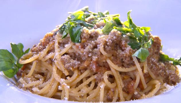 魔法のレストラン レシピ 作り方 ミートソーススパゲティ パスタ