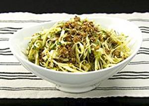 オーソレミーヨ レシピ ハイヒールモモコ 簡単 4月14日 キャベツのカレーそぼろサラダ