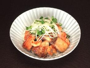 レシピ ちちんぷいぷい キッチンぷいぷい 4月11日 焼き海鮮丼