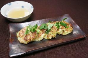 レシピ ちちんぷいぷい キッチンぷいぷい 4月17日 はまぐりと春キャベツのお好み焼き
