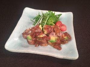 レシピ ちちんぷいぷい キッチンぷいぷい 4月25日 アボカドと豚のしょうが焼き