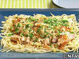 キューピー3分クッキング レシピ 作り方 材料 5月29日 鶏肉と豆もやしのレンジ蒸し 四川ソース