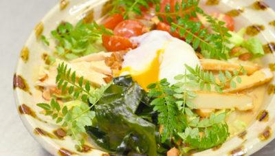 魔法のレストラン レシピ 作り方 材料 サラダ風ぶっかけうどん 菊乃井