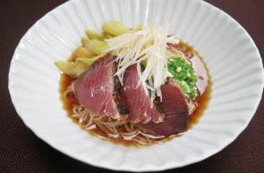 レシピ ちちんぷいぷい キッチンぷいぷい 5月17日 燻しカツオそうめん