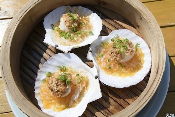 青空レストラン レシピ 作り方 6月23日 XO醤 蒸しホタテのにんにくソース