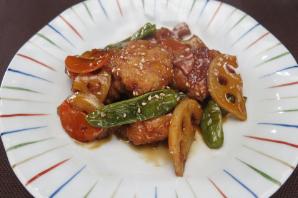 レシピ ちちんぷいぷい キッチンぷいぷい 6月6日 黒酢を使って鶏つくねの甘酢あんかけ