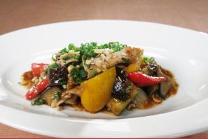 レシピ ちちんぷいぷい キッチンぷいぷい 6月8日 ワインビネガー 豚しゃぶと夏野菜のサラダ