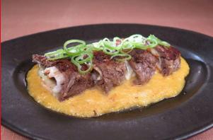 レシピ ちちんぷいぷい キッチンぷいぷい 6月11日 牛肉の重ね焼きとろろソース