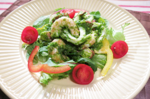 レシピ ちちんぷいぷい キッチンぷいぷい 6月29日 イタリアングリーンソースの魚介のサラダ