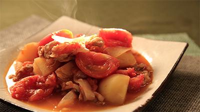 相葉マナブ なるほどレシピ 旬の産地ごはん 作り方 材料 7月8日 トマト 肉じゃが