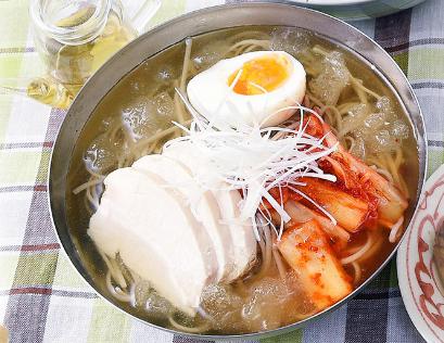 男子ごはん レシピ 作り方 国分太一 栗原心平 7月29日 アレンジ麺 柔らか鶏の冷麺風そば