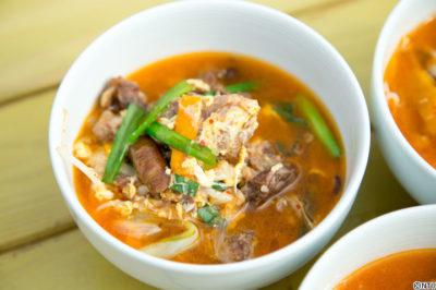 青空レストラン レシピ 作り方 8月18日 こぶ黒 牛肉 テールスープ