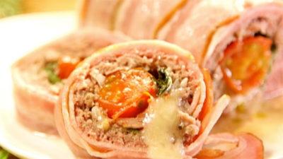 沸騰ワード 伝説の家政婦 志麻さん 作り置き レシピ 8月10日 ひき肉のベーコン巻き