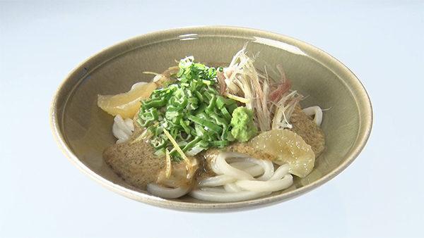 魔法のレストラン レシピ 作り方 材料 8月1日 菊乃井 オクラのぶっかけうどん