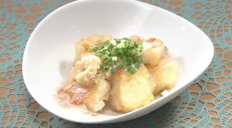 おびゴハン レシピ 材料 作り方 8月20日 レモンそうめん 揚げ出し卵豆腐