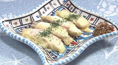 おびゴハン レシピ 材料 作り方 副菜 みょうがのチーズ焼き
