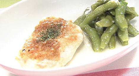 おびゴハン レシピ 材料 作り方 8月28日 鶏むね肉のペペロンチーノ蒸し