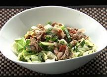 オーソレミーヨ レシピ ハイヒールモモコ 簡単 8月4日 ゆで豚とキャベツの梅サラダ