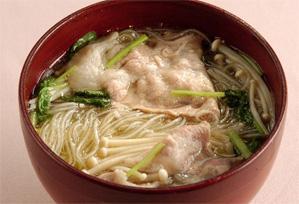 上沼恵美子のおしゃべりクッキング レシピ 作り方 春雨のしょうがスープ