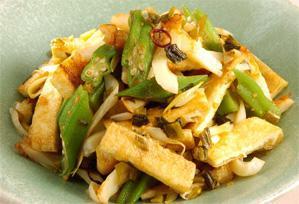 上沼恵美子のおしゃべりクッキング レシピ 作り方 8月24日 オクラと油揚げの辛味和え