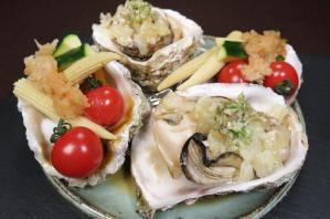 レシピ ちちんぷいぷい キッチンぷいぷい 8月14日 蒸し岩牡蠣の香味野菜のせ