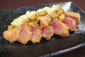 レシピ ちちんぷいぷい キッチンぷいぷい 8月15日 牛ランプの味噌カツ