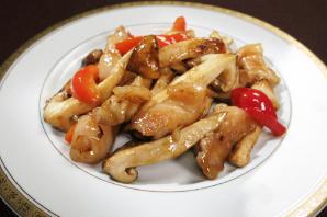 レシピ ちちんぷいぷい キッチンぷいぷい 8月16日 松茸と豚肉のオイスター炒め
