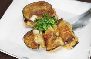 レシピ ちちんぷいぷい キッチンぷいぷい 水茄子とらっきょう味噌の挟み焼き