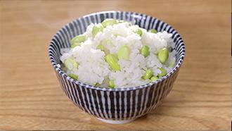 相葉マナブ なるほどレシピ 旬の産地ごはん 作り方 材料 炊き込みご飯 枝豆釜飯