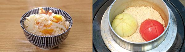 相葉マナブ なるほどレシピ 旬の産地ごはん 作り方 材料 炊き込みご飯 トマトと玉ねぎまるごと炊き込みご飯