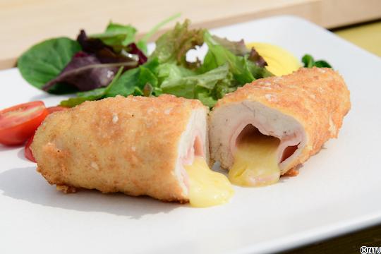 青空レストラン レシピ 作り方 9月15日 上州地鶏 上州地鶏のコルドン・ブルー