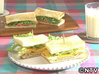 キューピー3分クッキング レシピ 作り方 材料 9月8日 台湾サンドイッチ